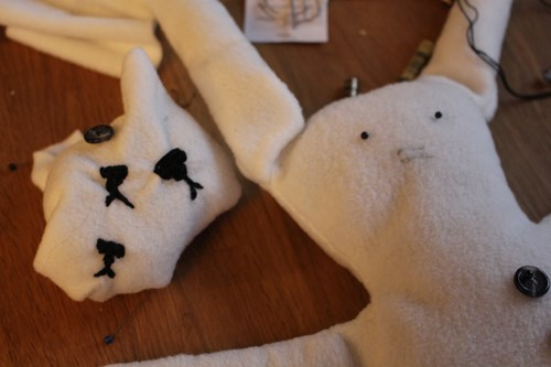 hello fresh teddies practice sewing